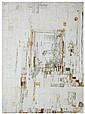 Maria Helena Vieira da Silva (1908-1992)  Narthex, 1972 Tempera sur papier marouflé sur toile Signée et datée 72 en bas à droite Tem...