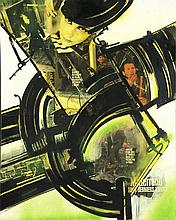 Gianni Bertini (1922-2010) La passion de Zeus, 1995 Technique mixte et collages sur toile Signé, daté et titré au dos 92 x 73 cm