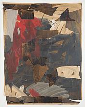 André Pierre Arnal (né en 1939) Sans titre Huile et collage sur toile 162 x 130 cm