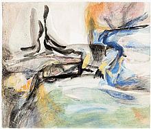 Christine Annie Boumeester (1904-1971) Sans titre, 1953 Aquarelle sur papier Signée et datée 53 en bas à droite 32,5 x 38 cm