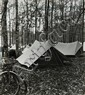 Maurice Tabard (1897-1984) Camping à Fontainebleau, VERS 1950-1960 Ensemble de 11 épreuves argentiques, certaines portant le cachet ...