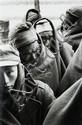 Werner Bischof (1916-1954) Ko Je Do Island, Corée du Sud, un re-education camp, 1952 Épreuve argentique postérieure, portant le...