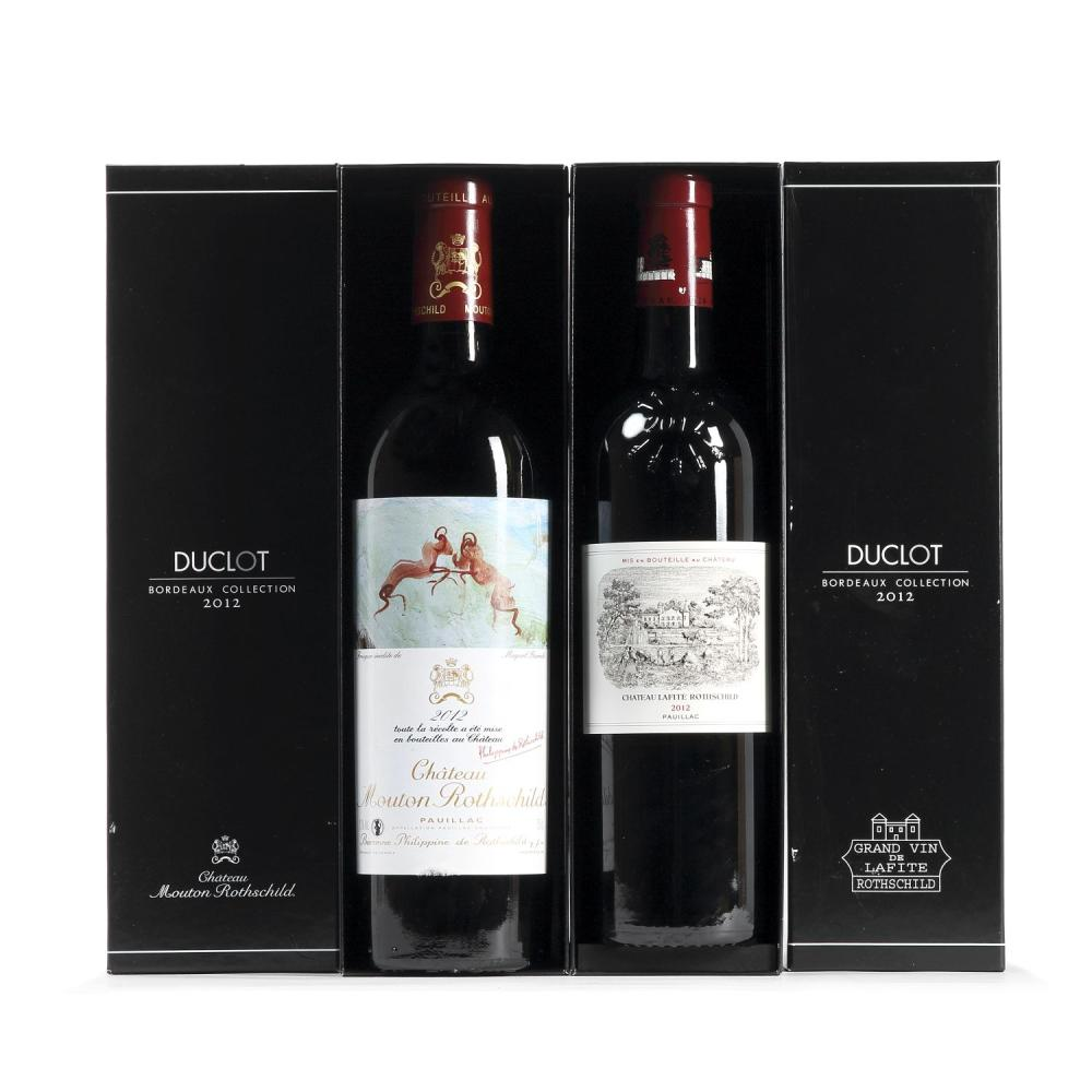 6 bouteilles Château LYNCH-BAGES, 5° cru Pauillac 2012 CB