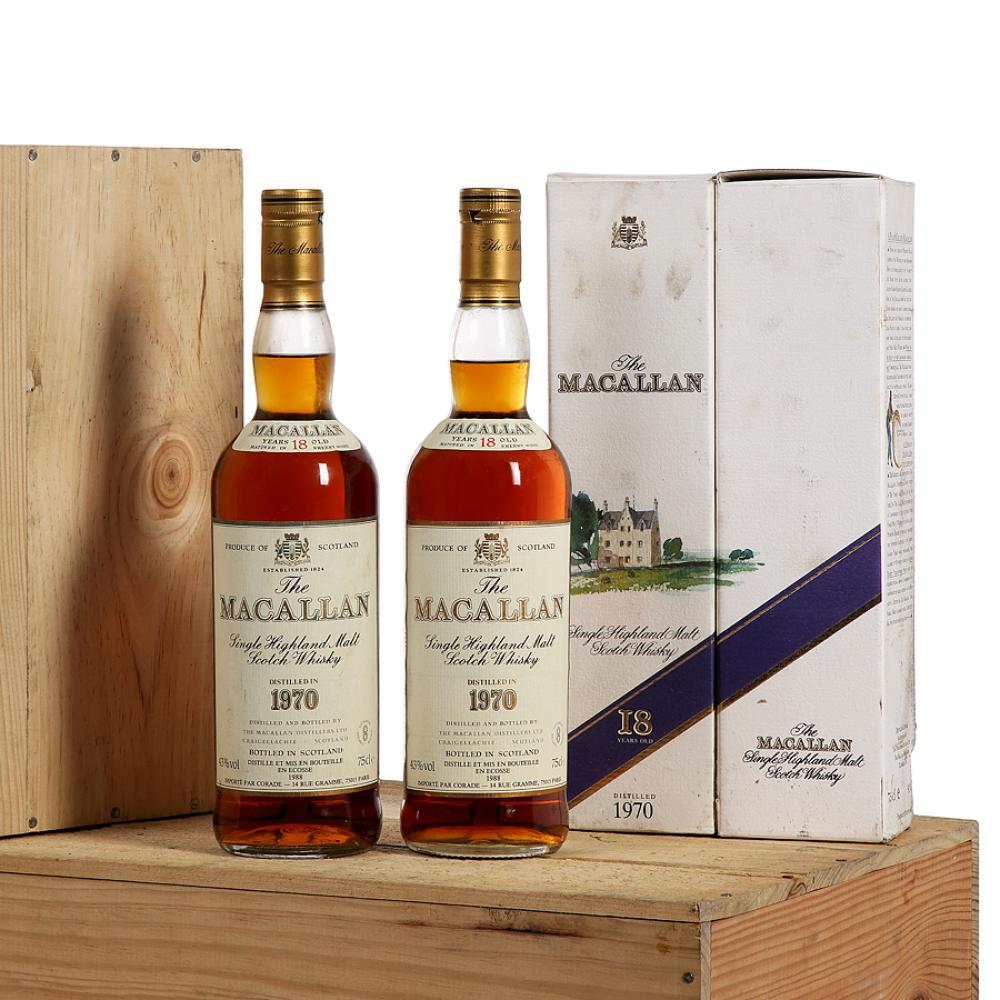 12 bouteilles WHISKY