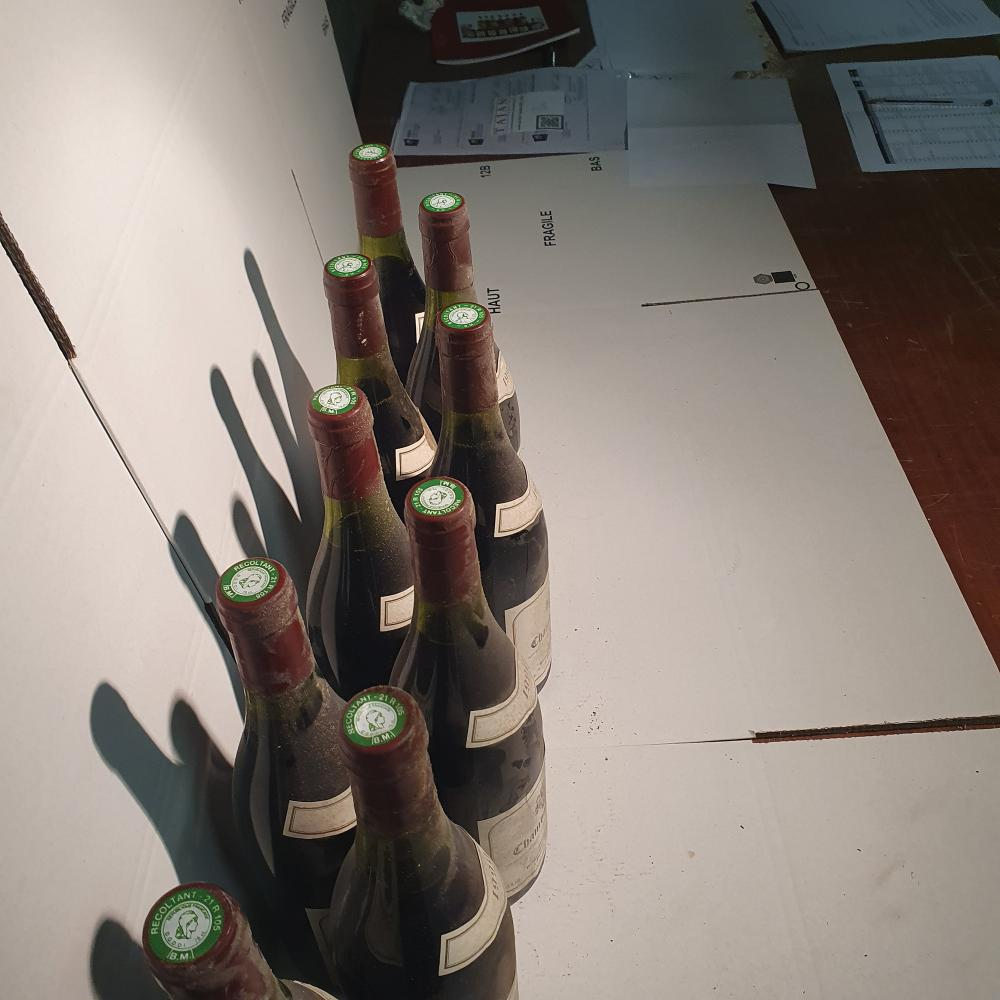 11 bouteilles CHAMBOLLE-MUSIGNY