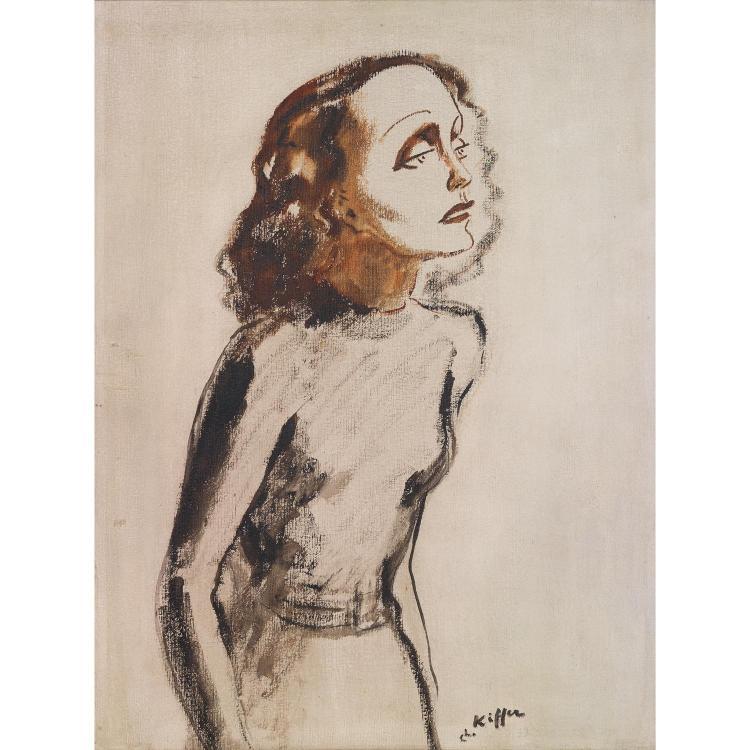 Charles Kiffer (1902-1992) Edith Piaf