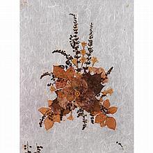 Princess Grace Kelly ( 1929-1982) Composition de fleurs séchées