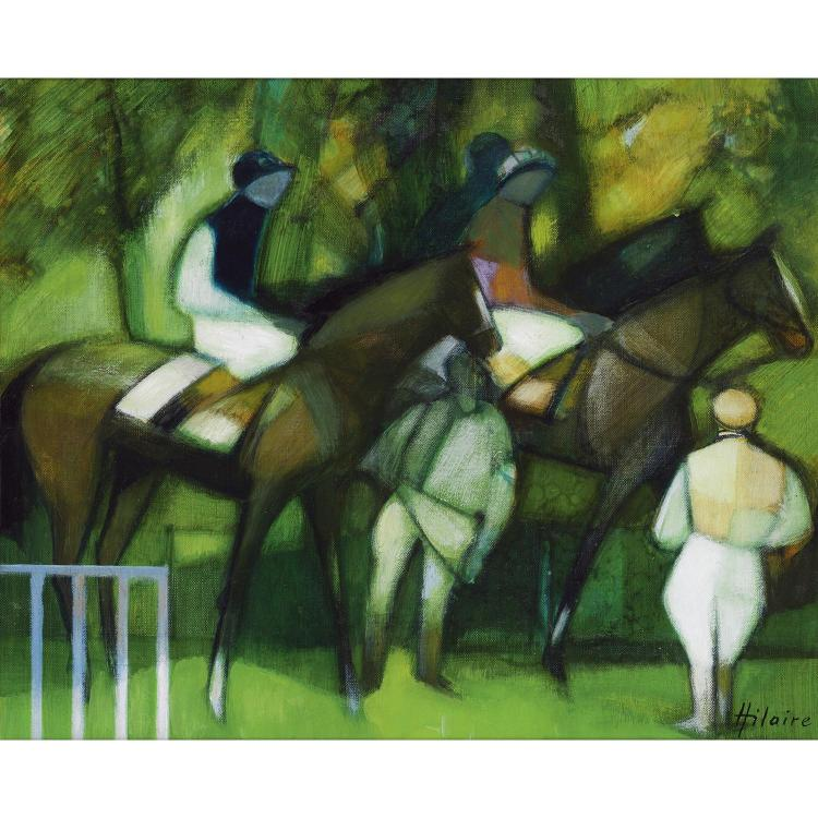 Camille Hilaire (1916-2004) Le Paddock