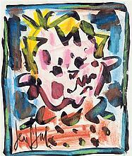 GEN PAUL (Eugène Paul dit) (1895-1975) Tête d'enfant Aquarelle sur papier Signée en bas à gauche 26 x 23cm