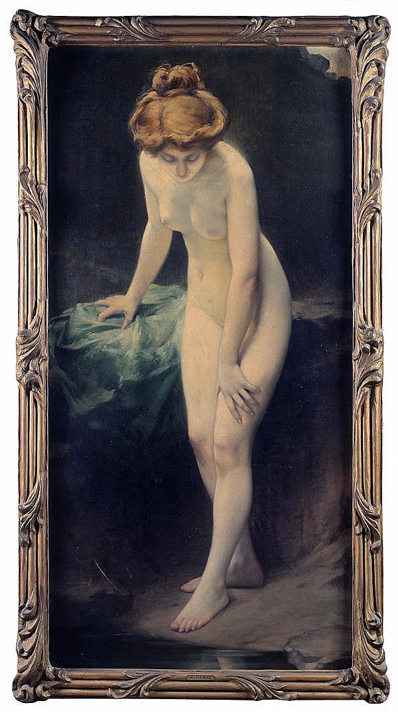 albert penot xermamenil 1862 paris 1930 premier miroir. Black Bedroom Furniture Sets. Home Design Ideas