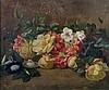 José MIRABENT Y CATELL (Barcelone 1831-1899) Nature morte aux fleurs Huile sur carton 36,5 x 45cm Signé et daté en bas à gauche Quel..., Josep Mirabent Gatell, Click for value