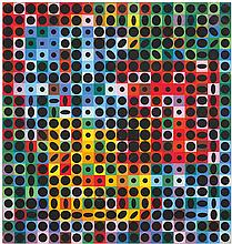 Victor Vasarely (1906-1997) Orion-CC, 1962