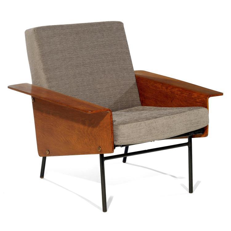 pierre guariche 1926 1995 airborne diteur fauteuil ba. Black Bedroom Furniture Sets. Home Design Ideas