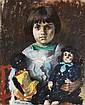 PAUL ELIE GERNEZ (1888-1948) Mimi Gernez, 1926 Pastel sur papier Signé et daté
