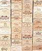 Ensemble de 5 bouteilles 1 bouteille Château LANDY, Sauternes 2002 1 bouteille Domaine DE TICH, Ste-Croix-du-Mont 1996 1 bouteille P...