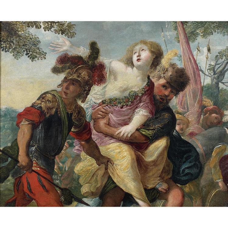 Claude vignon paris 1593 1670 l 39 39 enl vement de pers phone - Enlevement encombrants paris ...