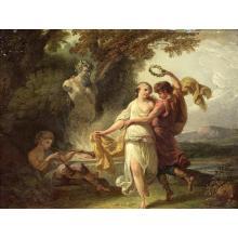 Attribué à Jacques-Philippe CARESME (1734-1796)La danse de Bacchus