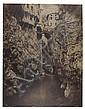 """Édouard Denis Baldus (1813-1889) Pont en Royans, vers 1854 Épreuve salée, négatif papier, signée, numérotée """"n°53"""", intitulée """"Pont ..., Edouard-Denis Baldus, Click for value"""