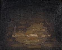 SERGE CHARCHOUNE (1888-1975) Nature morte, 1930 Huile sur toile  Signée et datée au dos  Oil on canvas Signed and dated lower left 2...