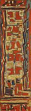 MAX PAPART (Né en 1911) Composition Huile sur panneau Signée en bas à gauche Contresignée et datée