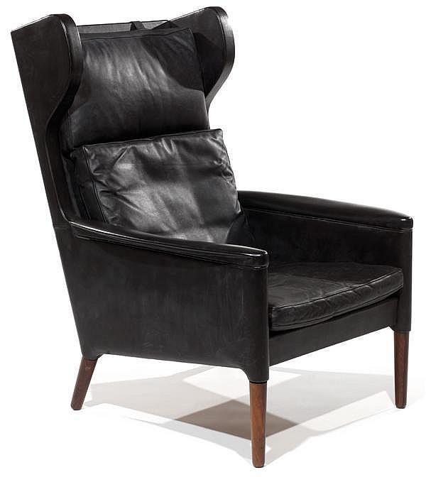 Kurt OSTERVIG (1912-1986) Grand fauteuil