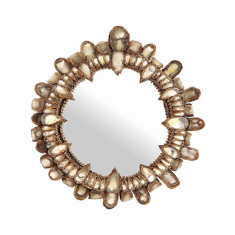 Line vautrin 1913 1997 miroir gerbera circa 1960 stru for Miroir circulaire