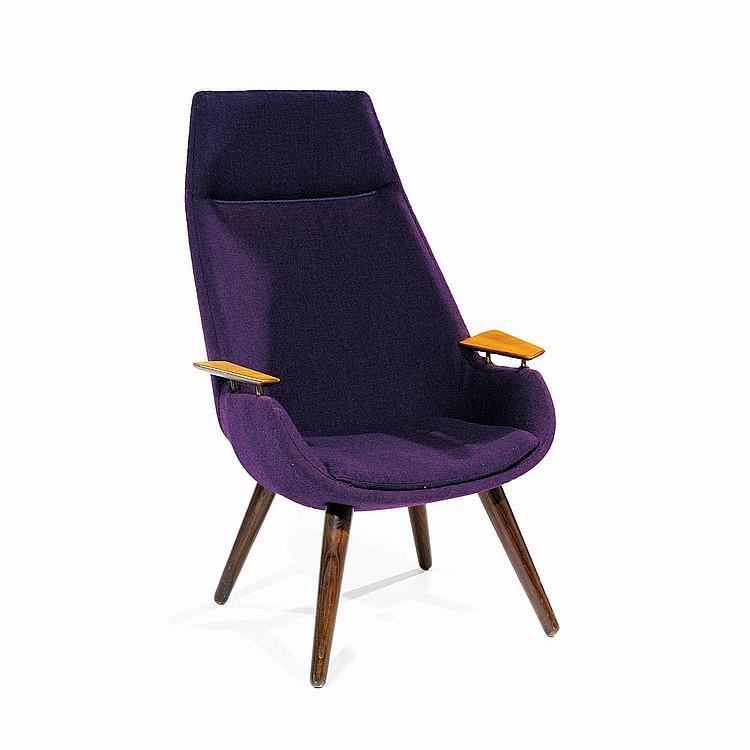carl edward matthes xxe fauteuil cr 233 ation 1957 pi 233 tement