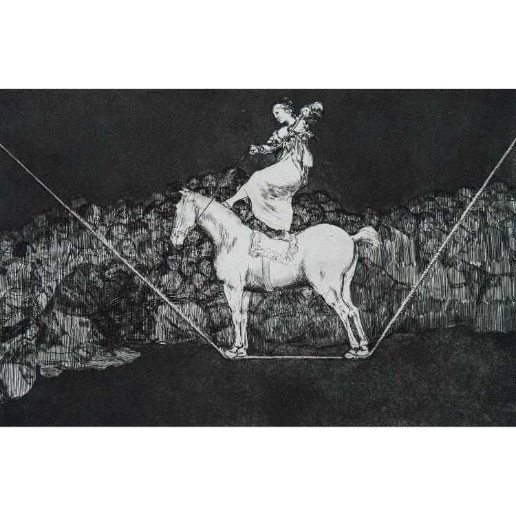 FRANCISCO GOYA (1746–1828) UNA REINA DEL CIRCO