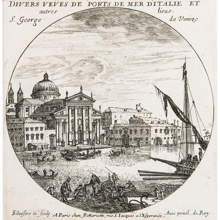 ISRAEL SILVESTRE (1621-1691) LES LIEUX LES PLUS REMARQUABLES DE PARIS ET DES ENVIRONS