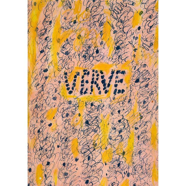 ENSEMBLE DE DEUX REVUES VERVE REVUE VERVE, Vol. II, N°5 et6-REVUE VERVE, Vol. V, N°17 et18