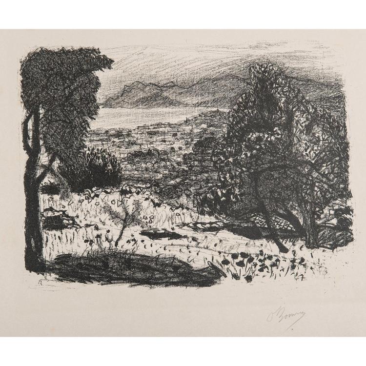 PIERRE BONNARD (1867-1947) PAYSAGE DU MIDI, 1925