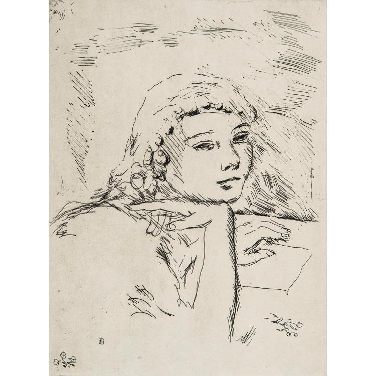 PIERRE BONNARD (1867-1947) LA VIE DE SAINTE MONIQUE, Ambroise Vollard, 1930