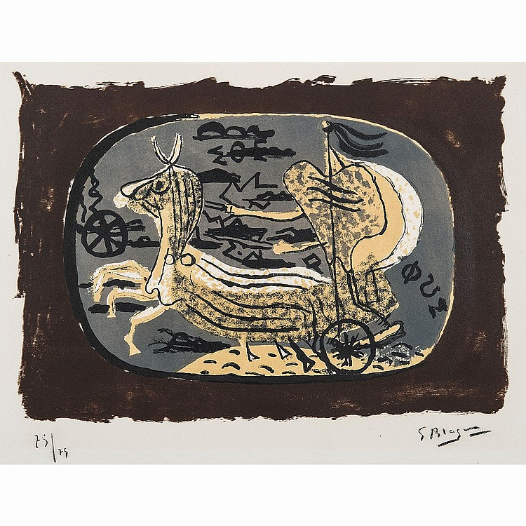 GEORGES BRAQUE (1882-1963) PHAETON