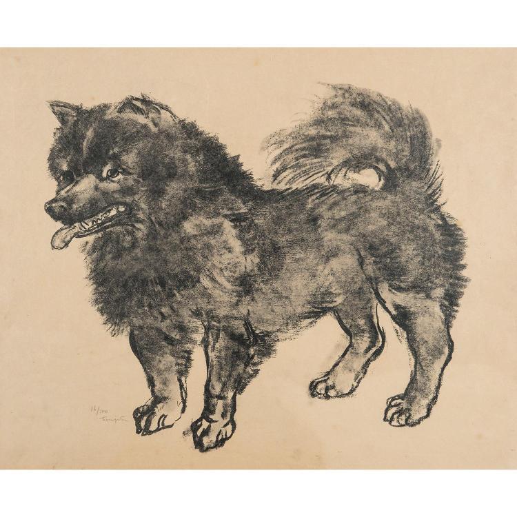 LÉONARD TSUGUHARU FOUJITA (1886-1968) LE CHOW-CHOW