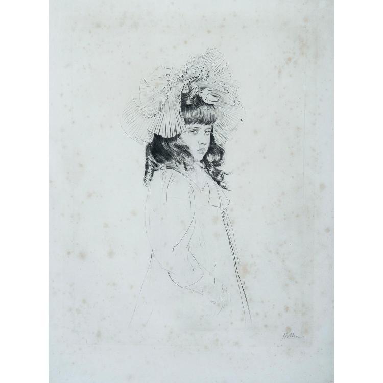 PAUL CÉSAR HELLEU (1859-1927) HELEN
