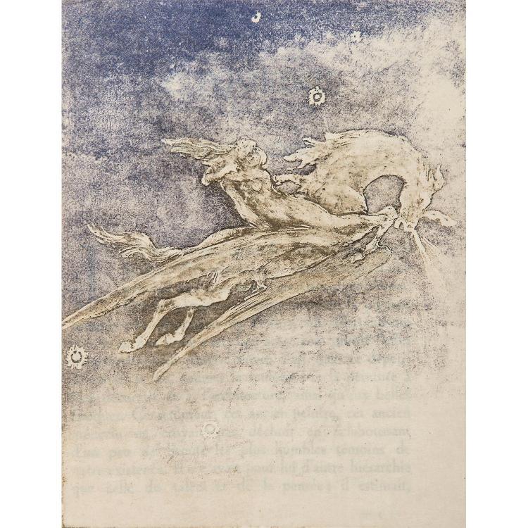 PIERRE ROCHE (1855-1922) Brochure de 27 pages contenant une préface de L. Vaillant, le catalogue des œuvres de l'artiste et une grav...