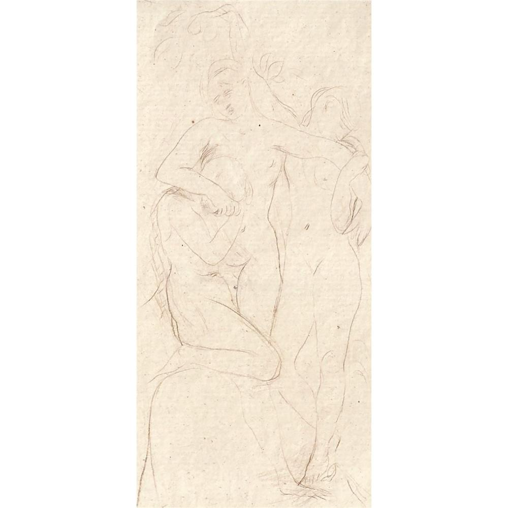 AUGUSTE RODIN (1840-1917) LA RONDE-LES ÂMES DU PURGATOIRE