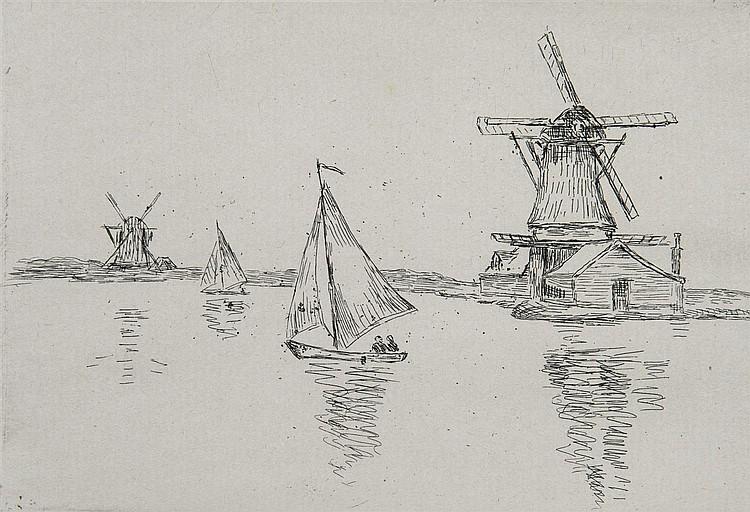 AUGUSTE RENOIR (1840-1919) SUR LA PLAGE À BERNEVAL