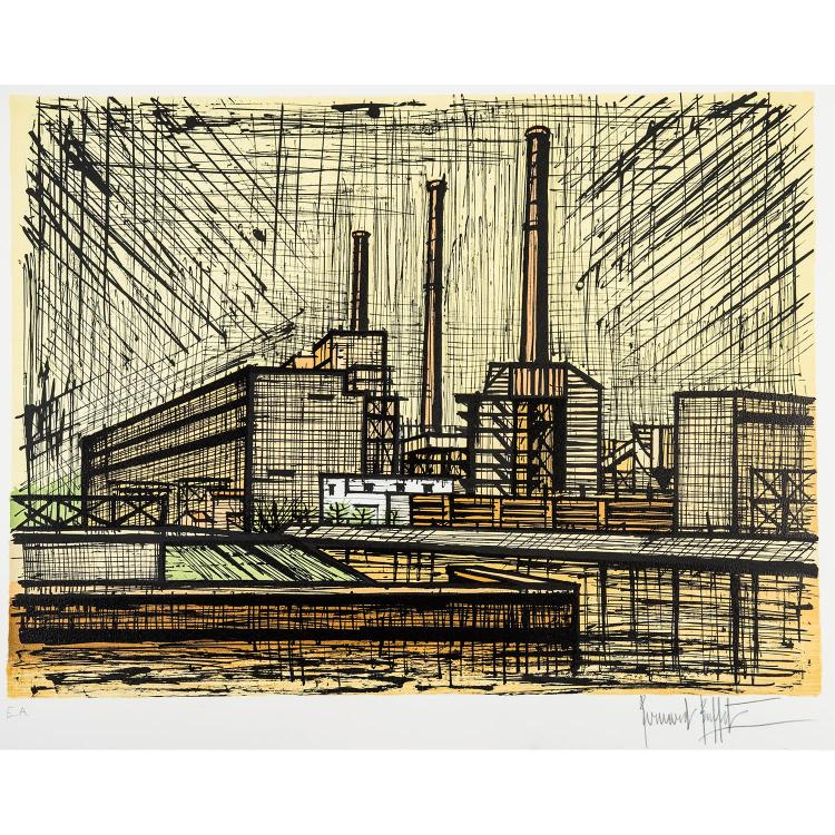 BERNARD BUFFET (1928-1999) USINES