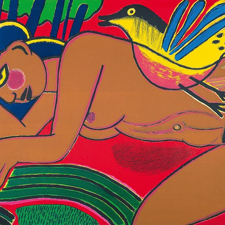 CORNEILLE (1922-2010) FEMME DE L'ÉTÉ, 1992