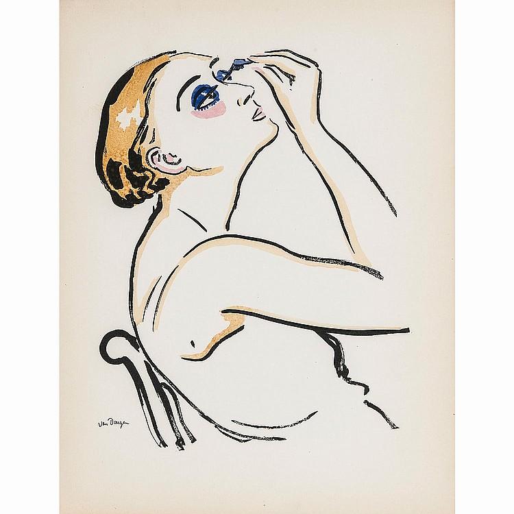 KEES VAN DONGEN (1877-1968) LE RIMMEL