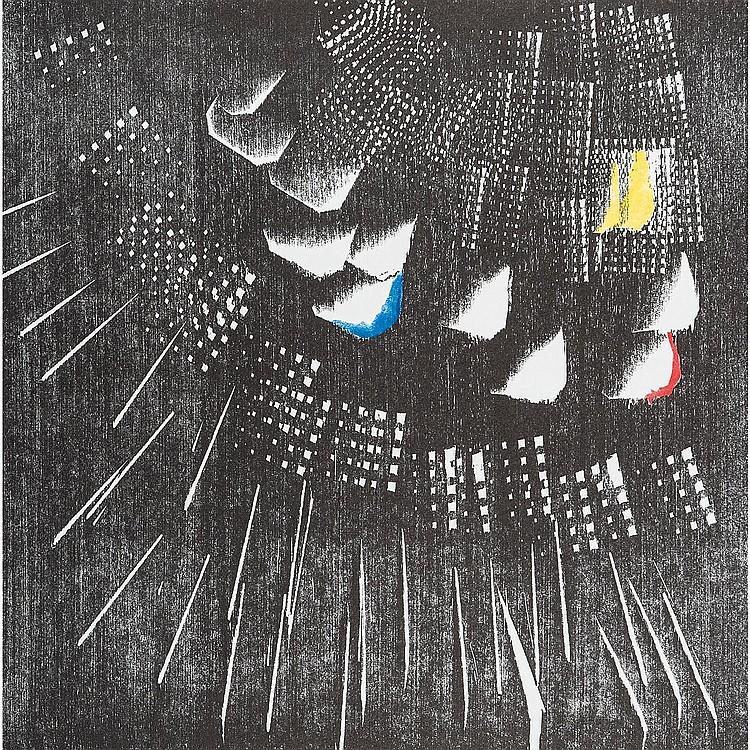 HANS HARTUNG (1904-1989) COMPOSITION, 1973