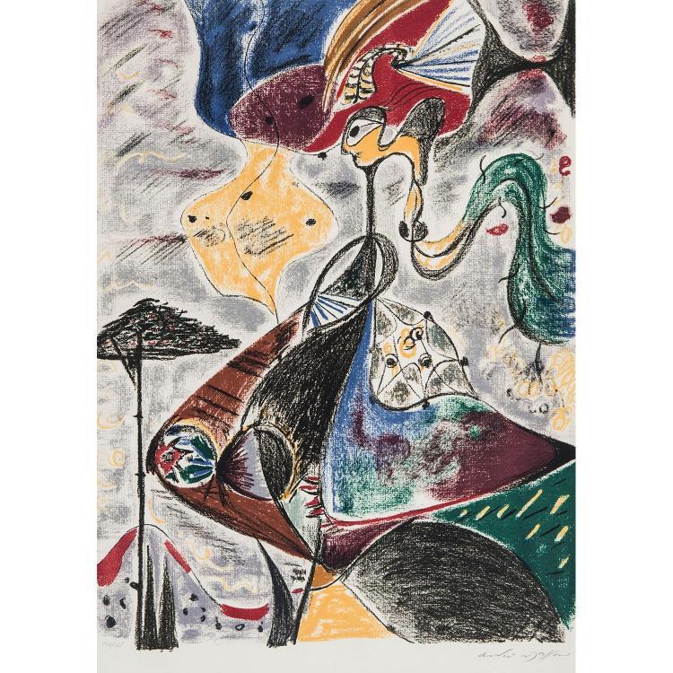 ANDRÉ MASSON (1896-1987) FIGURE
