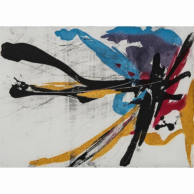 JEAN MIOTTE (1926-2016) L'ÉNERGIE EN PRINCIPE, poème de Marcelin Pleynet, 1994