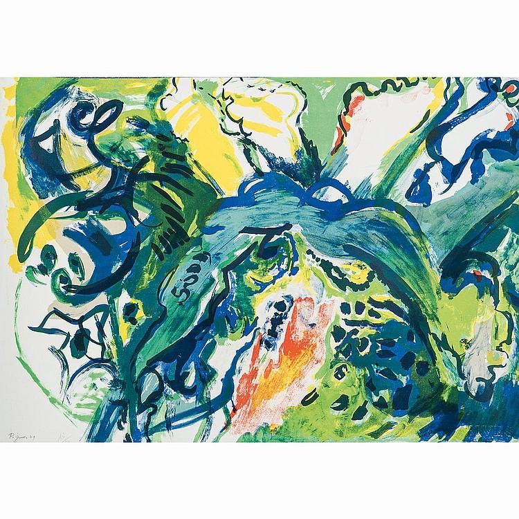 ÉDOUARD PIGNON (1905-1993) PLONGEURS, 1969