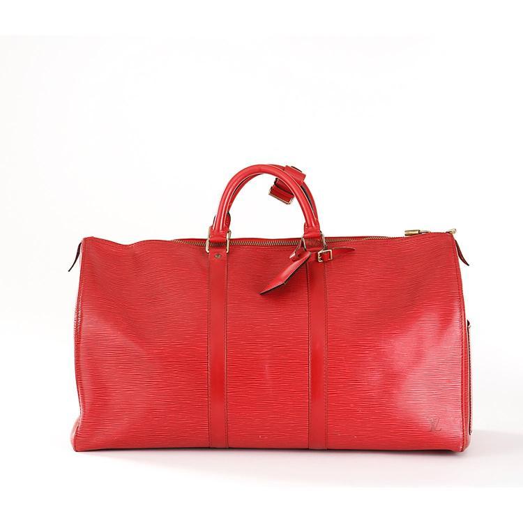 LOUIS VUITTON Sac de voyage Louis Vuitton Keepall