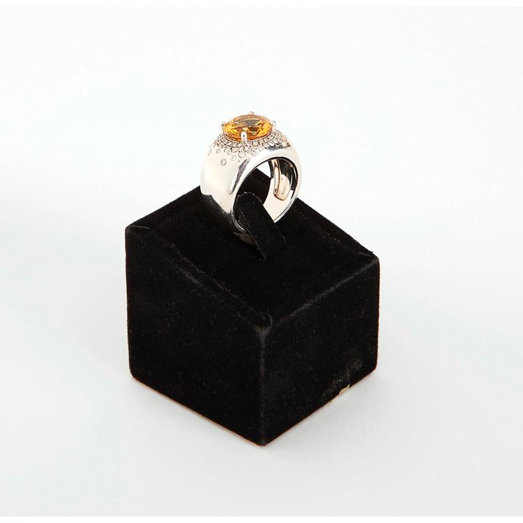 MAUBOUSSIN série contemporaine BAGUE JONC CITRINE