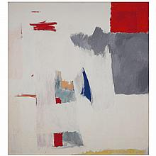 ƒGiorgio Cavallon (1904-1989). Sans titre, 1977. Oil on canvas; signed and dated 77 lower right; signed and dated on the reverse. 71 5/