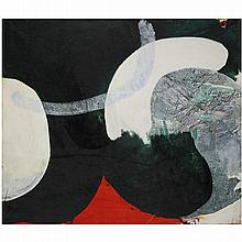 ƒJames Brooks (1906-1992). Zog, 1965-66. Acrylic on canvas; signed, dated and titled on the reverse. 36 x 42 1/8 IN.