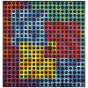 Victor Vasarely (1906-1997). Orion noir, 1970. BASF Polystyrene on panel; signed lower right; signed and numbered 39/100 on a label aff, Victor Vasarely, €5,000